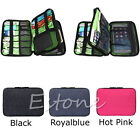 Large Travel Double Layers organizer Bag Can Carry Cable put HDD USB Flash Drive