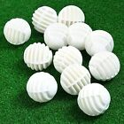 Lot 12 36Pcs Plastic Hollow Golf Balls Training Practice Trainer Golfer Swing