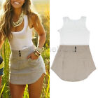 Women Celeb Sexy Mini Playsuit Lady Summer Shorts Beach Sun Dress Jumpsuit