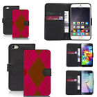 black pu leather wallet case cover for many mobiles design ref q653