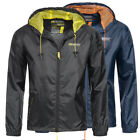 Geographical Norway Herren Regen Jacke Baxter Windbreaker Regenjacke Outdoor