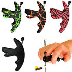 New Archery Release Aids Shooting Compound Recurve Bow Strings Tool Thumb Style