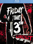Friday The 13th Uncut Blu-ray Kevin Bacon Betsy Palmer Adrienne King Jason NEW