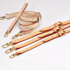 Real Leather Replacement Adjustable Shoulder Crossbody Strap Handbags Purse HQ