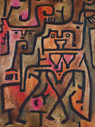 Paul Klee: Forest Witches. Art Print/Poster (3923)
