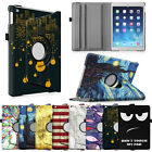 360 Degree Rotating Stand Case Smart Cover Sleep / Wake Feature for Apple iPad