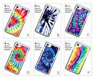 Tie-dye Colorful Coluorful Design Pattern Hard Cover Case for iPhone 6 6S 7