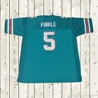 Ray Finkle #5 Ace Ventura 1994 Movie Football Miami Jersey Stitched Green New