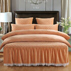 Majesty 4-Piece Luxury Warm Bedding  Fleece Duvet Cover Set - (QUEEN, KING size)