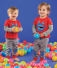 Mud Pie Little Monsters Lounge Pant Set