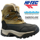 HI TEC BOYS GIRLS LEATHER WATERPROOF WINTER WARM WALKING HIKING BOOTS SHOES SIZE
