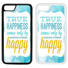 Life Sayings Quotes Printed PC Case Cover - Make Others Happy - S-A1199