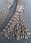 +***Paracord 550 - 25, 50 & 100 ft*** NOW 76 COLOURS; 7 strands, survival rope