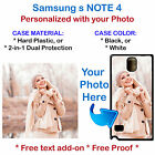 Personalize Custom Photo Picture Phone Case Cover for Samsung Galaxy NOTE 4