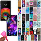 For LG X Power/ K6 K6P/ K450 US610 LS755 Design TPU Silicone Gel Skin Case Cover
