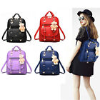 Fashion Sweet Women Backpack PU Leather School Bags College Travel Work Outdoor