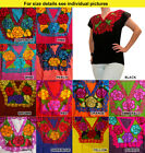 CHRISTMAS Authentic embroidered ethnic blouse from Chiapas Mexico