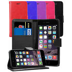Book Flip Wallet Leather Case Cover For iPhone SE 5 5S 5G + Screen Protector