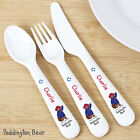 Personalised Plastic Themed Child Cutlery Set Birthday 1st Christmas Naming Day