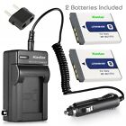 Kastar Battery and Normal Charger Kit for Sony NP-BD1 FD1 CyberShot DSC Type D