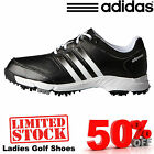 ADIDAS LADIES GOLF SHOES NEW 2016 LEATHER OR SPORT VERSIONS 40% SALE LADY GOLF