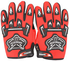 Pair Kids Youth Racing Gloves Motocross Sports Full Finger MX Dirt Pit Pro Bike