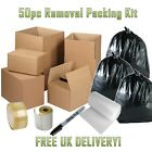 CLEARANCE Cardboard Boxs House Flat Office Moving Removal Packing Storage Kit