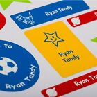 50 Personalise Super Sticky Name Labels, Name Tapes, Tags for School Belongings