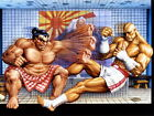 Street Fighter Sagat vs Edmond Honda Classic Game Art Giant Wall Print POSTER