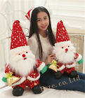 Christmas Lovely Doll Decoration Santa Claus Plush Doll Cotton Toy Kid Gift