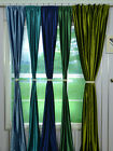 """22 Colors 120""""x100"""" Back Tab Velvet Curtain Panel Blackout Theater Stage Drapery"""