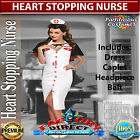 Licensed Deluxe Womens Nurse Medical Fancy Dress Costume