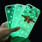 Luminous Pattern Rubber Soft TPU Silicone Back Case Cover for iPhone 6 6s Plus