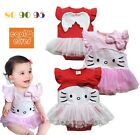 Hello Kitty Baby Girl Newborn/Infant/Toddler Angel Wings Romper Pettiskirt Dress