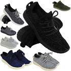 SALE! MENS RUNNING TRAINERS WOMENS FITNESS GYM SPORTS COMFY LACE UP SHOES SIZE