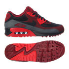 Nike Air Max 90 Essential 537384-603 Team Red/Black/Dark Grey Leather Men Shoes