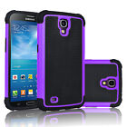 Cases Covers Skins - Shockproof Armor Hybrid Rubber Matte Hard Case Cover For Samsung Galaxy Mega 63