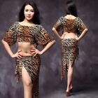 New arrival 2016 women belly dance costumes outfit stage student 2pcs top skirt