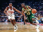 Gary Payton Seattle SuperSonics Retro Huge Giant Wall Print POSTER on eBay