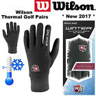 WINTER MENS GOLF GLOVES MENS WILSON WINTER PAIRS ALL SIZES THERMAL GOLF GLOVES