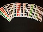36 Willowleaf #4 Holographic Sparkle Die Cuts Fishing Lure Tape in 14 COLORS