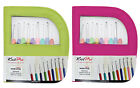 KnitPro Waves Crochet Hook Set Available In Pink Or Green