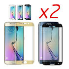 2x Tempered Glass Curved Full Screen Protector For Samsung Galaxy S8 S6 S7 PLUS