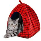 Pet Dog Igloo Kennel Bed Yurts Spider Man Puppy Dog Cat House Kennel Hut Beds
