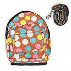 Pet Dog Cat Bag Back pack With Leash Cute Outdoor Travel Snack Bag 4 Colors