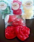 Rose Shape Wax Tarts Melts Soy Paraffin Spice Sweet Scents Holiday Fragrances
