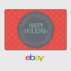 eBay Digital Gift Card - Happy Holidays  - Email Delivery