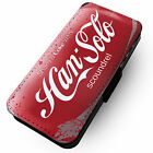 Han Solo Scoundrel Pop Can - Printed Faux Leather Flip Phone Cover Case