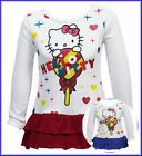 Hello Kitty Glittery Sparkly Party Tunic Top; Ages 2-7, Pink or Blue