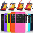 OEM New Luxury S-view Window Flip Leather Case For Samsung Galaxy Note 3 N9000
